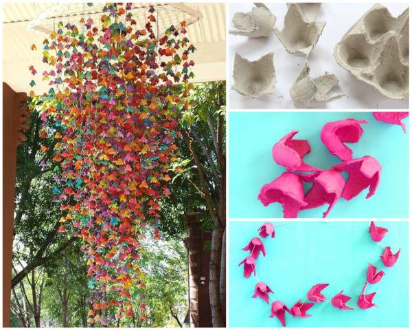 20  upcycled egg carton decorating ideas