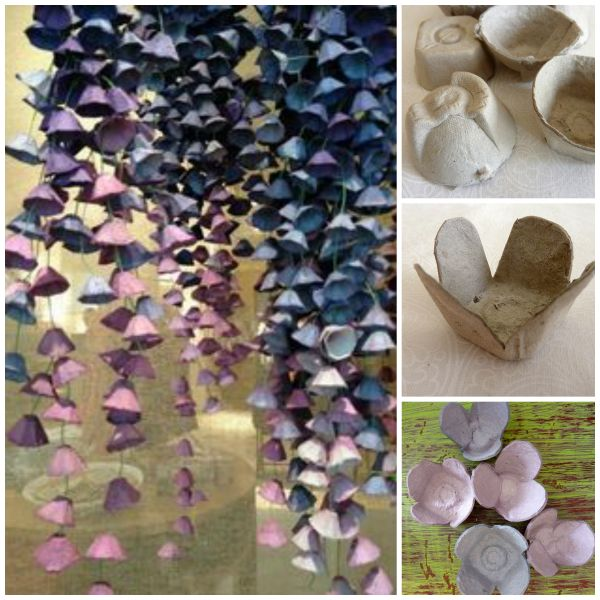 Fab Art DIY Upcycled Egg Carton Decorating Ideas and Tutorials26