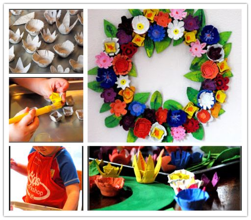 Fab Art DIY Upcycled Egg Carton Decorating Ideas and Tutorials9