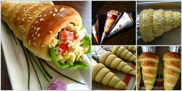 DIY cute bread cone pantry tutorial