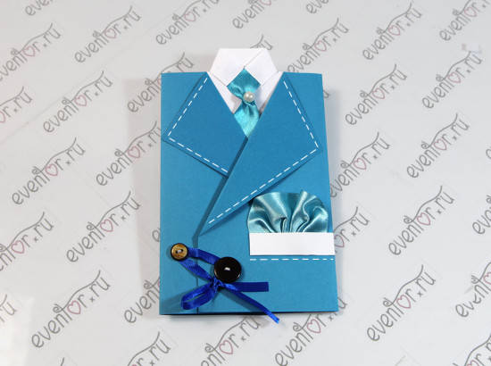 Fab Art DIY suit greeting card1