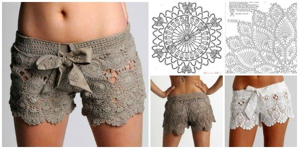 crochet shorts pattern