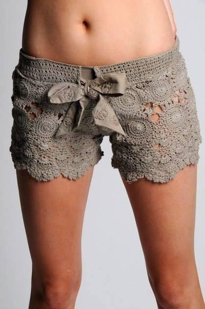 FabArtDIY Crochet Lace Short Free Pattern1