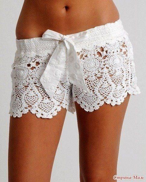 FabArtDIY Crochet Lace Short Free Pattern4
