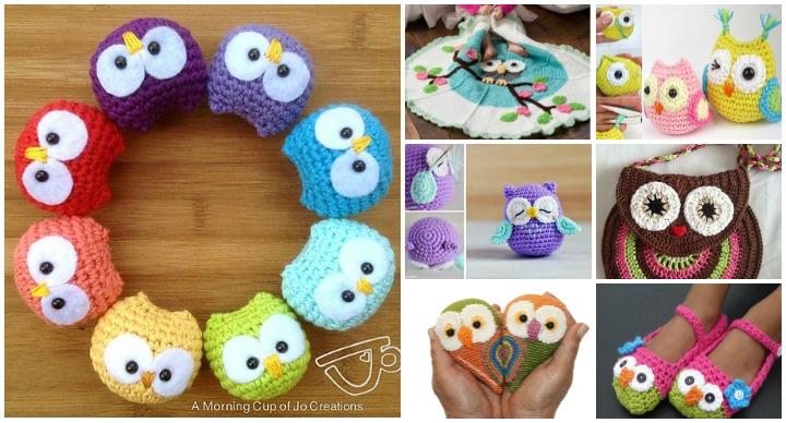 Little Owl Free Crochet Pattern : www.FabArtDIY.com Fab ideas to inspire your daily life ...