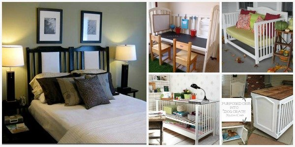 FabArtDIY Furnitures from Repurposed Baby Cribs
