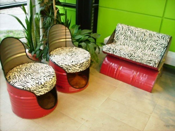 10 fab art diy recycled metal drum projects fab art diy for Home decor ideas from recycled materials