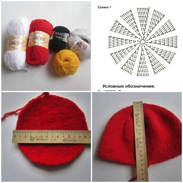 FabArtDIY crochet angry bird hat free pattern01