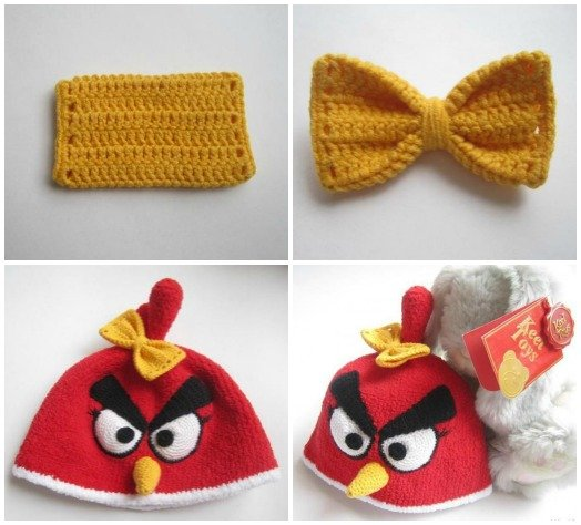 FabArtDIY crochet angry bird hat free pattern04