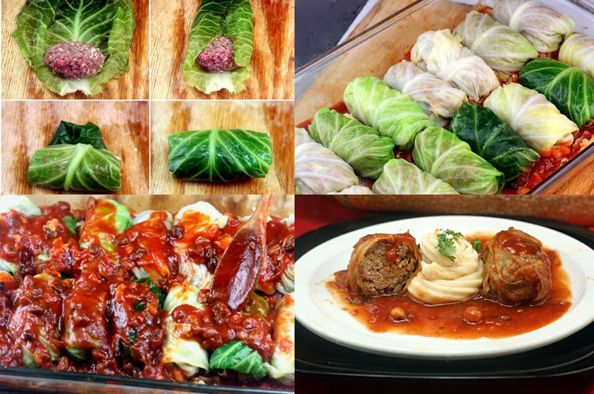 How to DIY DIY Stuffed Cabbage Roll