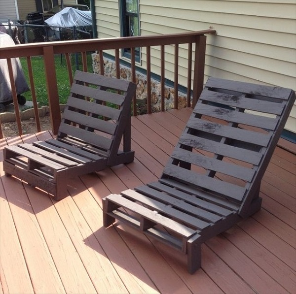 Pallet Bench Ideas Part - 24: 20+ DIY Outdoor Pallet Furniture Ideas And Tutorials-Adirondack Chair From  One Pallet ...