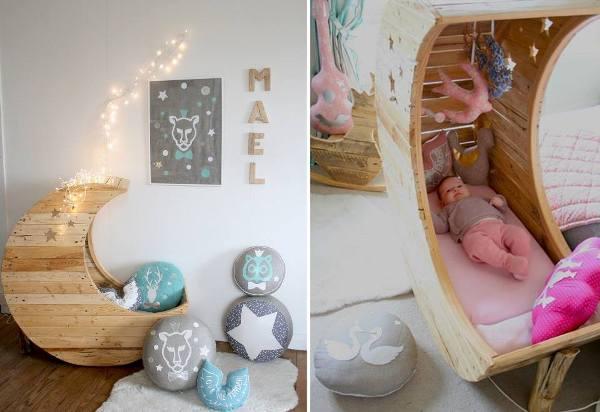 Fabartdiy Repurposed Wire Spool Furniture Ideas Pallet Baby Crib
