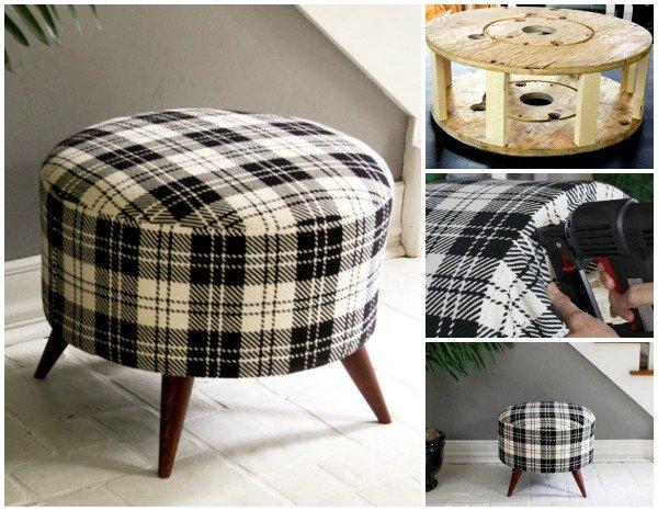 15+ diy wood wire spool furniture ideas and tutorials