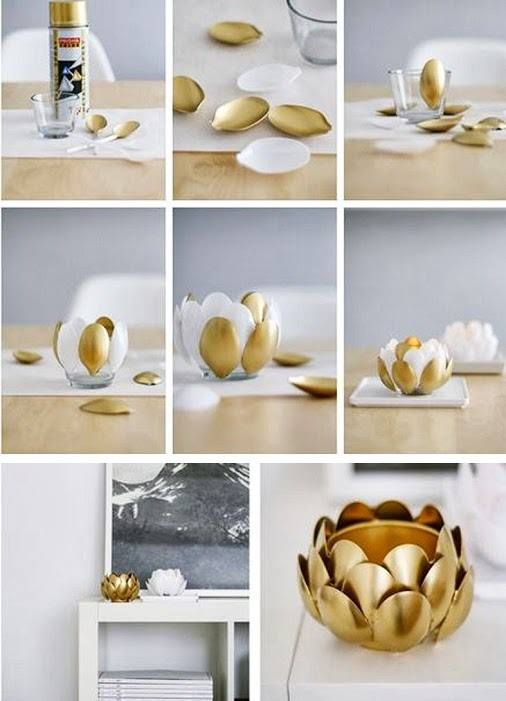 Top 15 DIY Plastic Spoon Decoration Ideas17