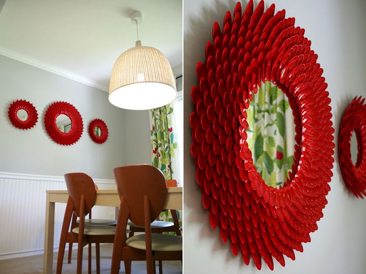 Superieur Top 15 DIY Plastic Spoon Decoration Ideas21