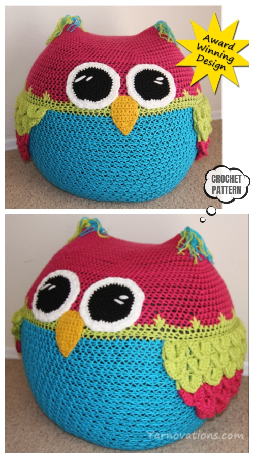 Amigurumi Crochet Owl Free Patterns Instructions | Owl crochet ... | 900x500