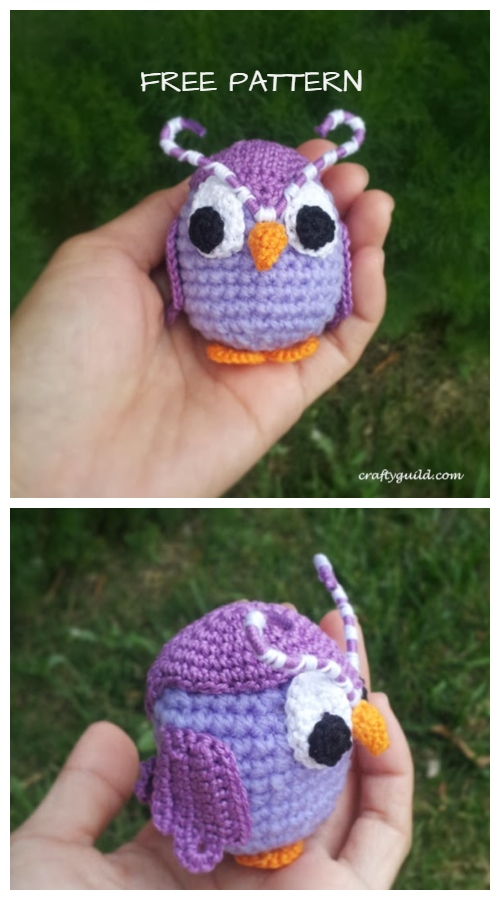 Crochet Odus Owl Amigurumi Free Crochet Patterns