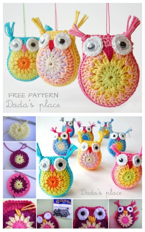 Crochet Little Owl Amigurumi Free Patterns
