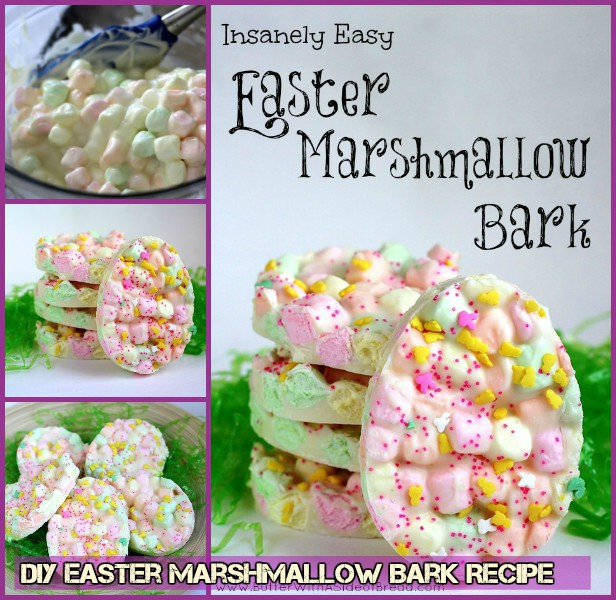 DIY Easter Marshmallow Bark Recipes