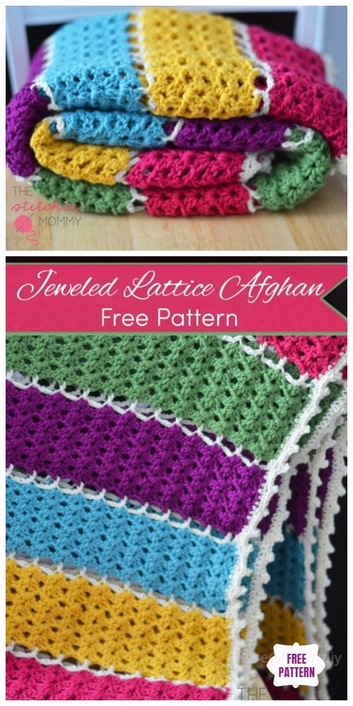 40 Diy Knit Crochet Baby Blanket Free Pattern