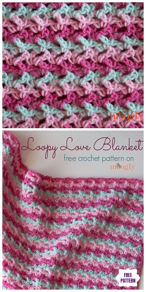 Blanket Yarn Crochet Patterns