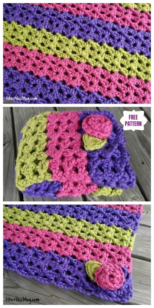 Crochet Sorbetto Baby Blanket Free Crochet Pattern