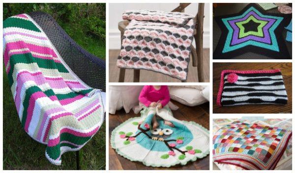 40+ DIY Knit & Crochet Baby Blanket Free Patterns