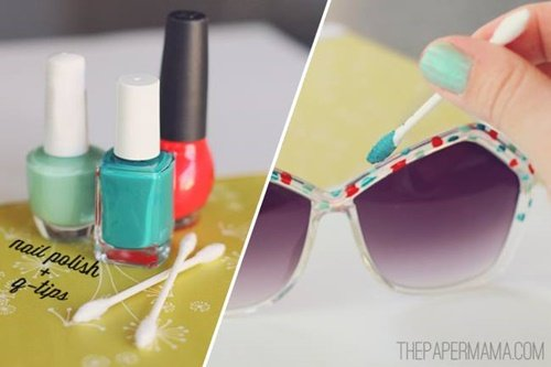 20+ Fab Art DIY Ideas and Projects With Nail Polish10