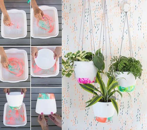 20+ Fab Art DIY Ideas and Projects With Nail Polish2