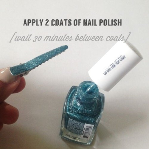 20+ Fab Art DIY Ideas and Projects With Nail Polish23
