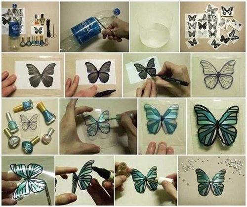 20+ Fab Art DIY Ideas and Projects With Nail Polish9