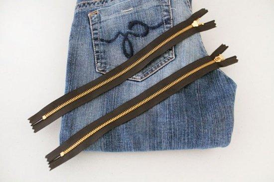20+ FabArtDIY Ways To Rejuvenate Your Old Jeans diy-skinny-jeans