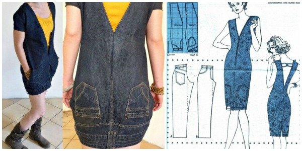 40+ Ways to Refashion Your Old Jeans - Free Template