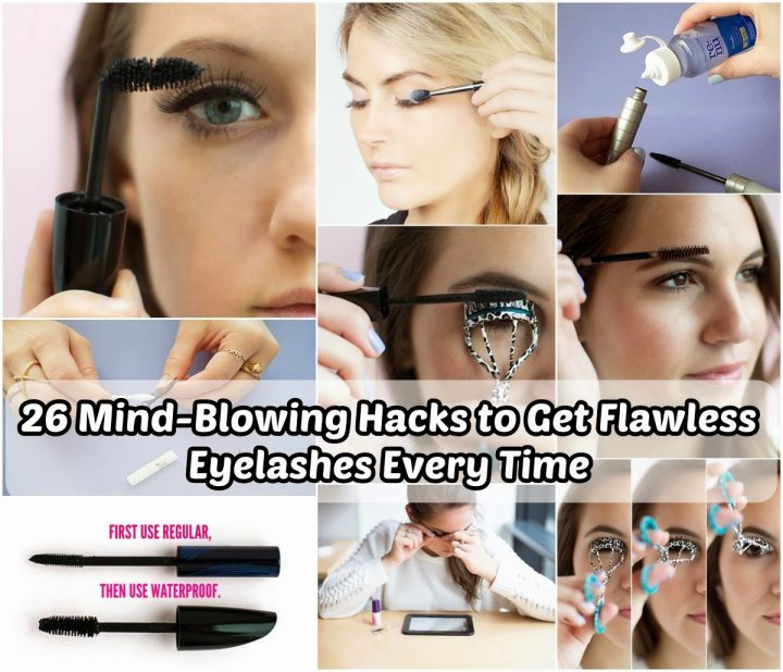 Hacks to Get Flawless Eyelashes Every Time