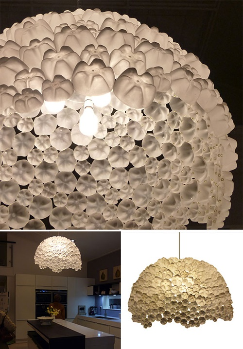 40+ Fab Art DIY Ideas and Projects to Recycle Plastic Bottles Into Something Amazing20
