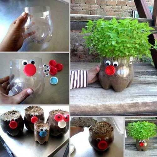 40+ Fab Art DIY Ideas and Projects to Recycle Plastic Bottles Into Something Amazing21