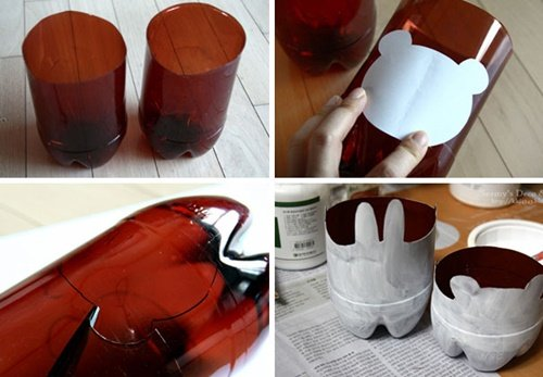 40+ Fab Art DIY Ideas and Projects to Recycle Plastic Bottles Into Something Amazing28