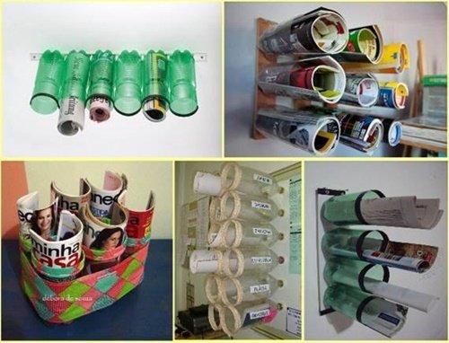 Diy ideas and projects to recycle plastic bottles for Waste product craft