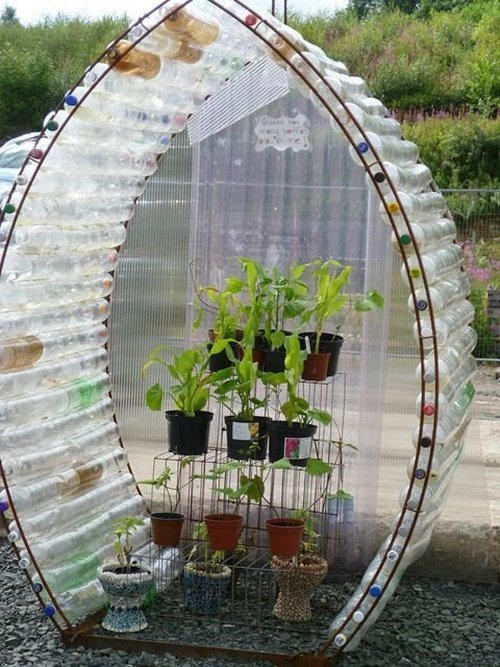 40+ Fab Art DIY Ideas and Projects to Recycle Plastic Bottles Into Something Amazing42