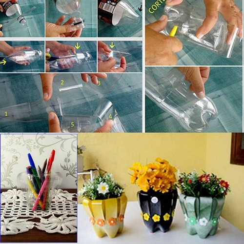 40+ Fab Art DIY Ideas and Projects to Recycle Plastic Bottles Into Something Amazing45