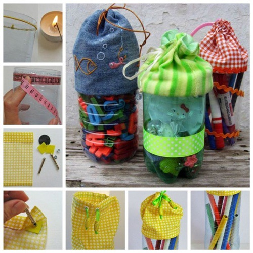 40+ Fab Art DIY Ideas and Projects to Recycle Plastic Bottles Into Something Amazing46