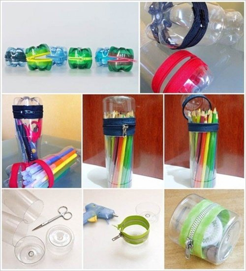 Diy ideas and projects to recycle plastic bottles for Cool recycling projects