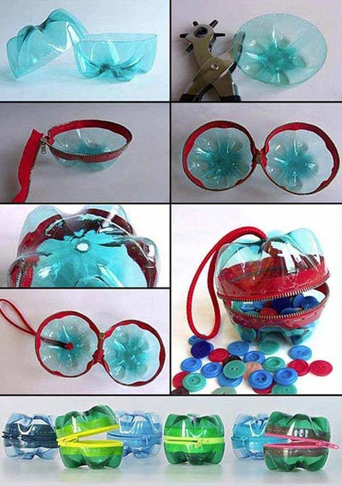 Diy ideas and projects to recycle plastic bottles for Diy plastic bottle