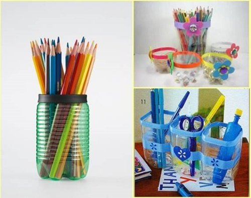 Diy ideas and projects to recycle plastic bottles for Recycle project ideas