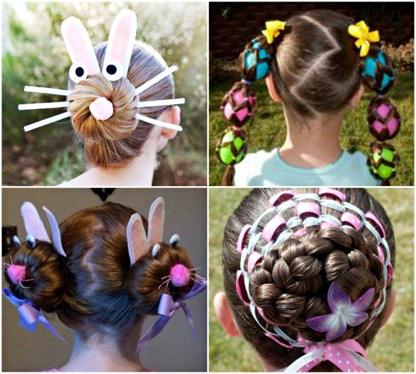 Peachy Diy Little Girls Hairstyles Hairstyles For Women Draintrainus