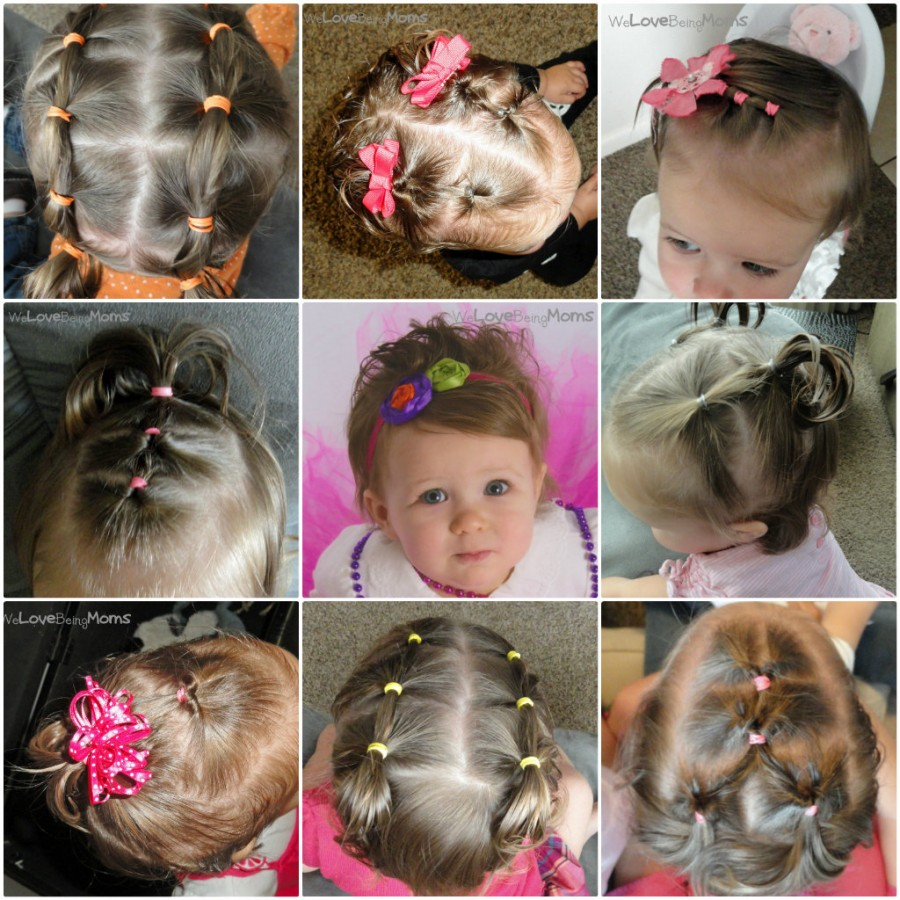 DIY Little Girls Hairstyles