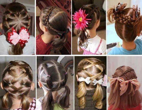 DIY Little Girls Hairstyle