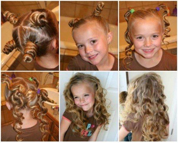 Super Diy Little Girls Hairstyles Short Hairstyles Gunalazisus