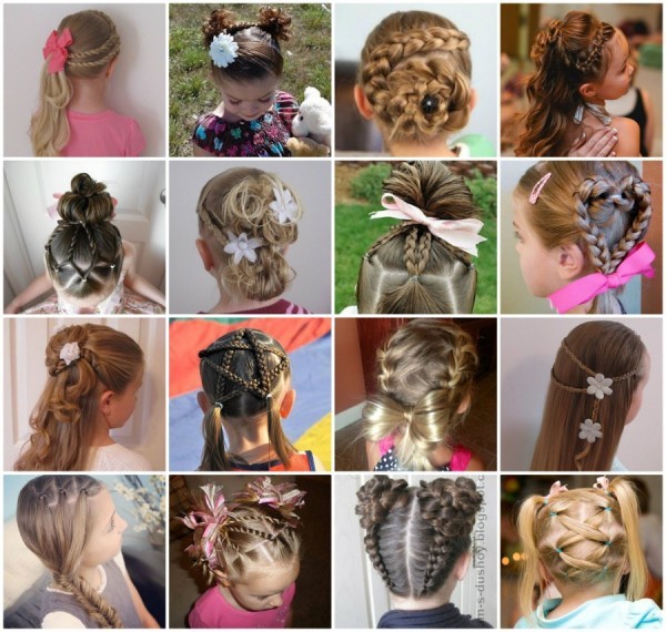 DIY Little Girls Hairstyle ...
