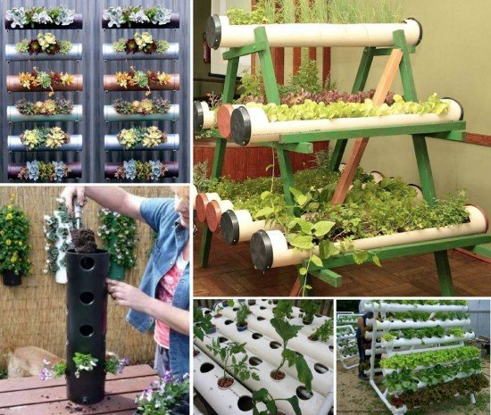Diy pvc gardening ideas and projects for Diy pvc projects